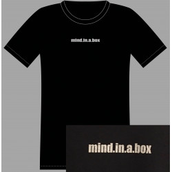 mind.in.a.box - men t-shirt (re-design old logo)