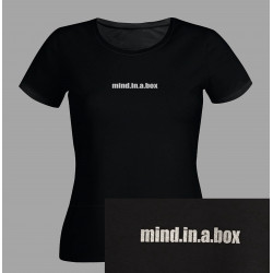 mind.in.a.box - women t-shirt (re-design old logo)