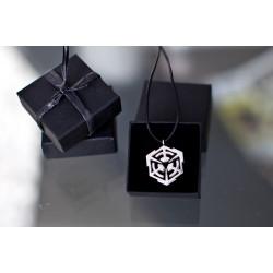 mind.in.a.box Pendant small (Silver)