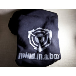 mind.in.a.box SILVER-CUBE LOGO women hoodie