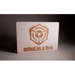 mind.in.a.box wooden postcard
